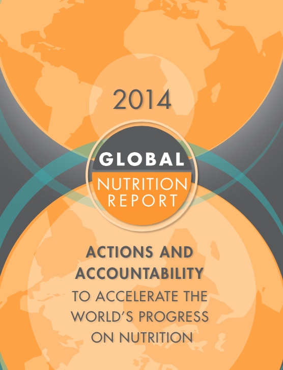2014 Global Nutrition Report Cover